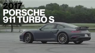 Porsche 911 Turbo S Hot Lap at VIR | Lightning Lap 2017 | Car and Driver