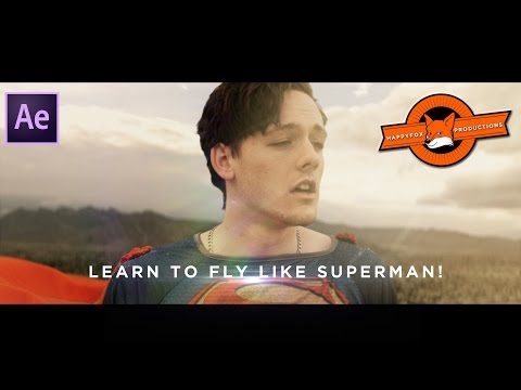 After Effects Tutorial: Fly like Superman VFX!