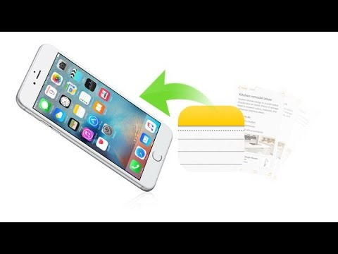 How to Recover Deleted iPhone Notes