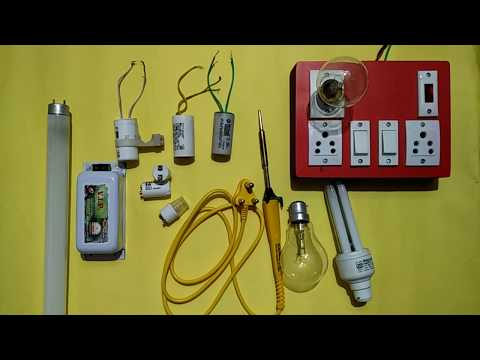 How to check, Tube Light, Choke, Starter, Capacitor, CFL, Bulb, Soldering Iron, by using Series Test