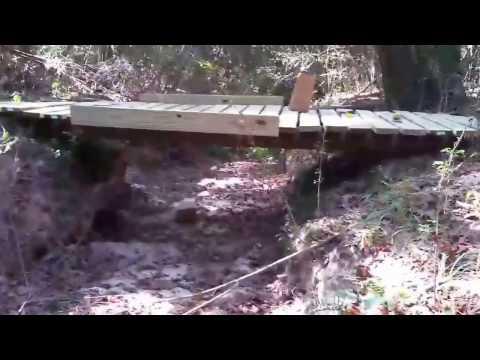 HOW TO: Build a small foot/ATV Bridge.