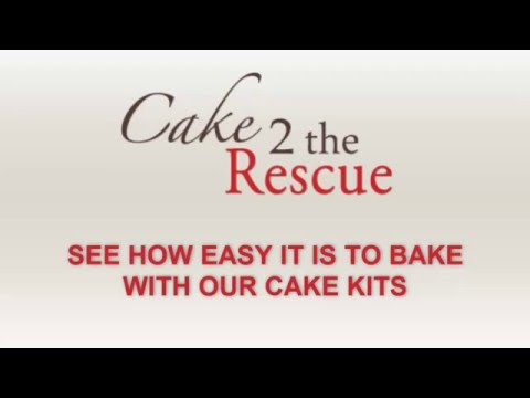 Cake 2 The Rescue - How to Bake with our Cake Kits