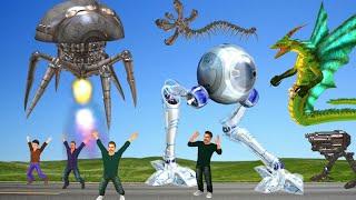 बड़ा रोबोट Robot कहानी 3D Hindi Kahaniya Bed Time Stories हिंदी कहानिया Big Robot Sci Fi Story