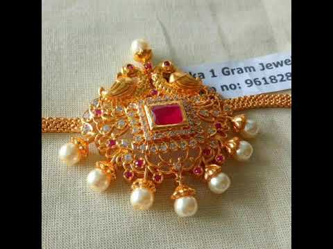1 gram gold jewellery wholesale latest trends