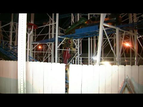 Questions emerge over derailed Florida roller coaster's safety record