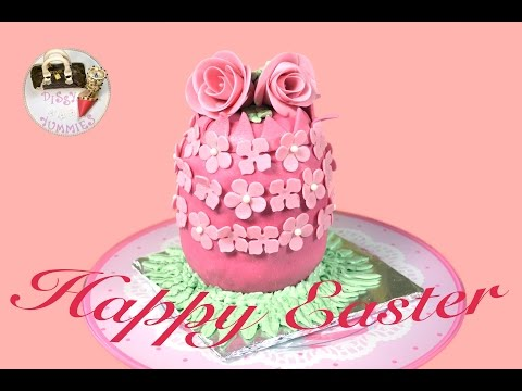 How To Make Easter Egg Cake by Dissy Yummies