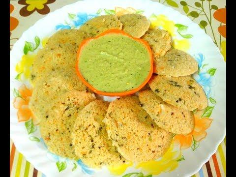 Oats Rava Idli/ Instant Oats Idli /Masala Oats Idli ..Fiber rich recipe from Aarchi's kitchen