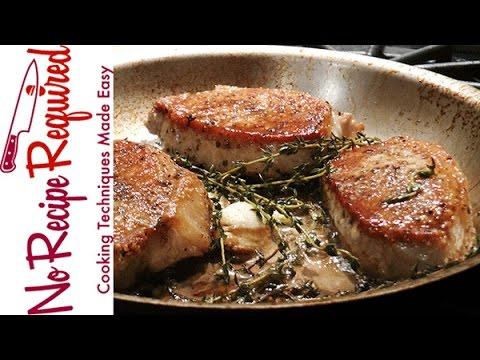 How to Cook Boneless Pork Chops - NoRecipeRequired.com