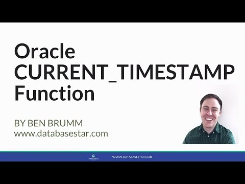 Oracle CURRENT_TIMESTAMP Function
