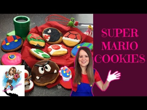 SUPER MARIO (NINTENDO ALL STARS) KEKSE / COOKIES - SWEETS FOR GEEKS