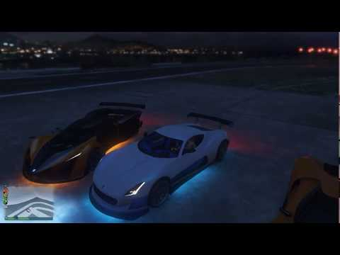 GTA 5 Speed Test Coil Cyclone( Rimac Concept one)#119