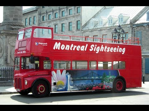 Hop-On Hop-Off Double-Decker Montreal Tour (Red Loop)