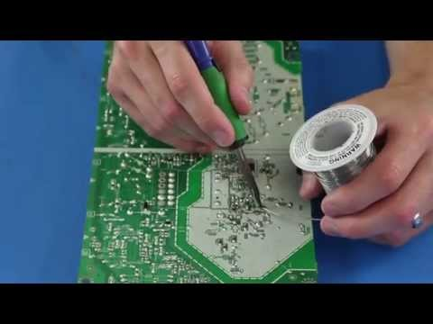 Philips BA21F0F0102 Power Supply No Power & Blown Fuse - Component Repair Kit Tutorial