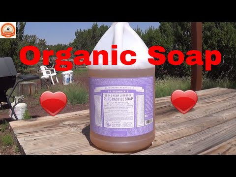 Organic Soap - 💖 Pure Castile Soap for laundry, shampoo, dishes, bathing, etc