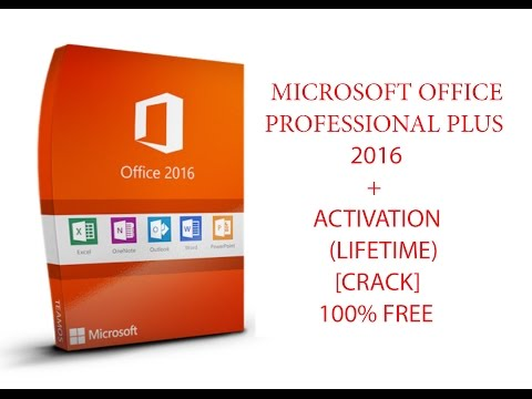 Microsoft office professional plus 2016 + activation (lifetime) 100% free