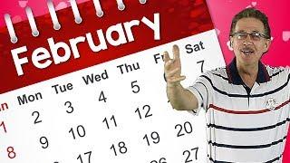 It's February! | Kids Calendar Song | Jack Hartmann