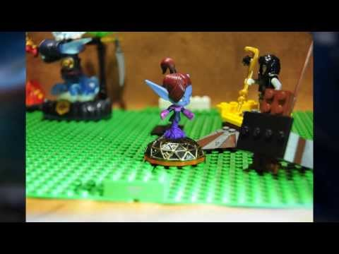 Lego Minion vs Skylander: Mini Jini's Training