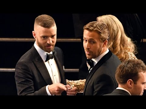Justin Timberlake Opens 2017 Oscars & Dances With Celebs During
