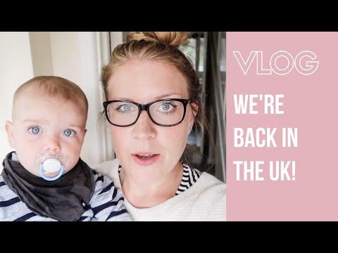WE'RE BACK IN THE UK | WEEKEND VLOG