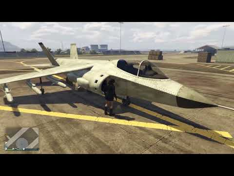 GTA 5 Online - Smugglers Run - Add Your Pegasus Aircraft to Hanger & Recolour