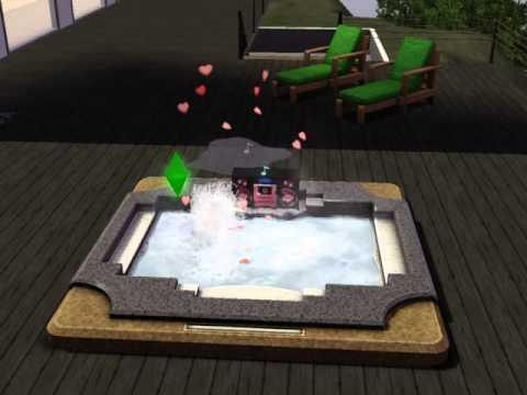 The Sims 3 WooHoo In The Hot Tub