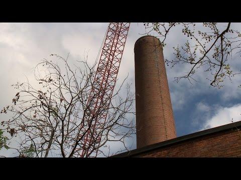 Vanderbilt celebrates end of coal; prepares to tear down smokestack