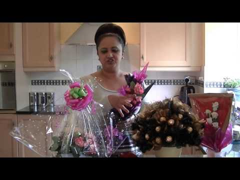 How To Make Fruit Bouquets & Ferroro Rocher Chocolate Bouquet by Neelam Meetcha