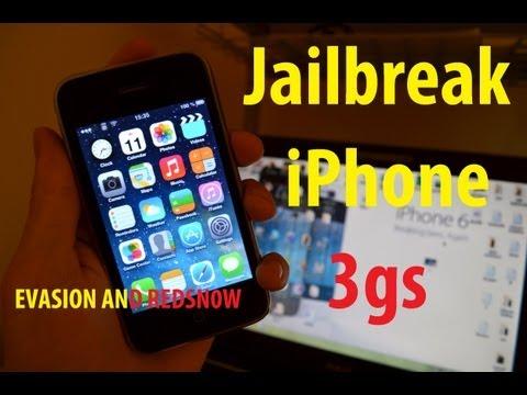 iPhone 3Gs, 4, 4s, 5 jailbreak ios 5-6.1.3 (evasi0n/redsn0w) PART 1