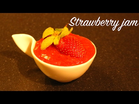 How to make Strawberry jam at home  without pectin