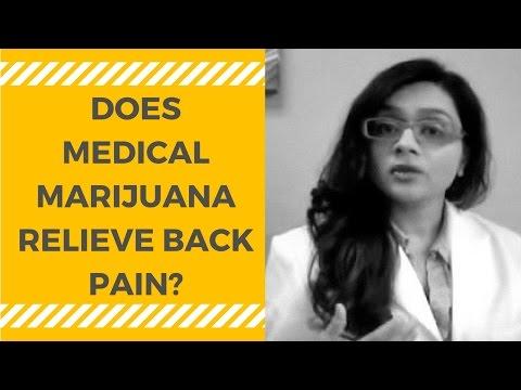 Medical Marijuana for Back Pain from Degenerative Disc Disease