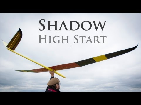 Nan Shadow F3J High Start Launching