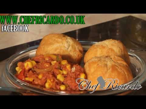 Corned Beef And Fried Dumplings Recipe (Caribbean Chef ) | Recipes By Chef Ricardo