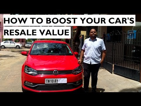 10 Tips To Boost Your Car's Resale Value