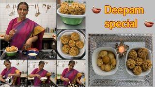 Karthigai Deepam spl/Pori Urundai/Rava / Suji Appam by Revathy Shanmugam