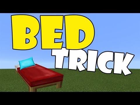 BED TRICK | Minecraft PE (Pocket Edition) MCPE