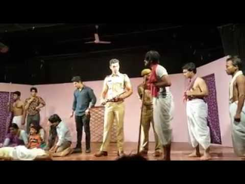 Prithvi  Theatre  ,s Play By Bollywood   Actor  Aman kumar  for  great  inspirational message