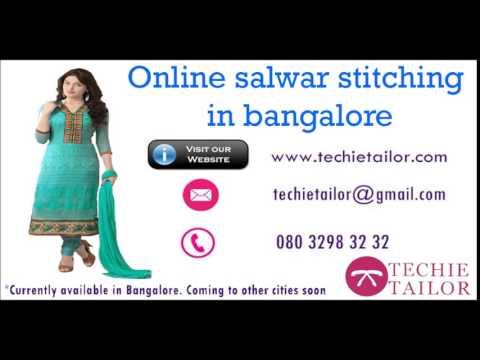 Online salwar stitching in bangalore | salwar/kurti stitching in one day | TechieTailor