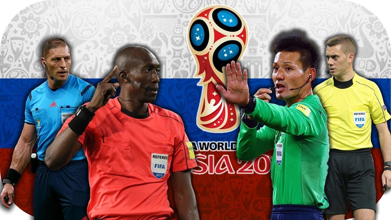 Fifa World Cup 2018 - The referees