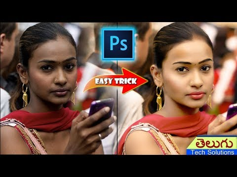 Photoshop Tutorial: Change Skin Color Photoshop Skin Retouching!!!