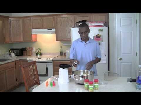 Popcorn seasoned with Recipes Made Easy seasoning Lloyd Grubb