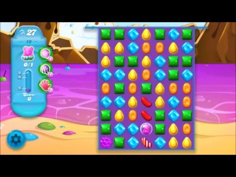 Candy Crush Soda Level 19 *Get the bear above the candy string*