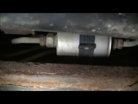 2000 Silverado Catalytic Converter Noise, Fuel Filter and MAF Sensor Cleaning