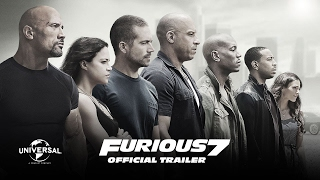 FAST AND FURIOUS 7 OFFICIAL TRAILER AF SOMALI