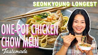 One-Pot Chicken Chow Mein I Seonkyoung Longest