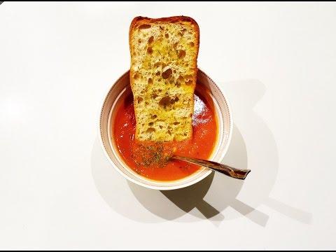 Creamy Tomato Corn Soup - how to make a cream of Tomato Soup