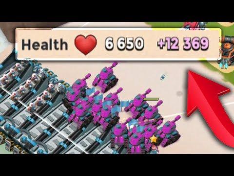 19000+ Health per Tank! OMG! Tribe and Statue Health Boost! Boom Beach