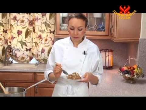 Spiced Spelt Morning Porridge with Coconut Milk by Vegan Chef Rebecca Frye