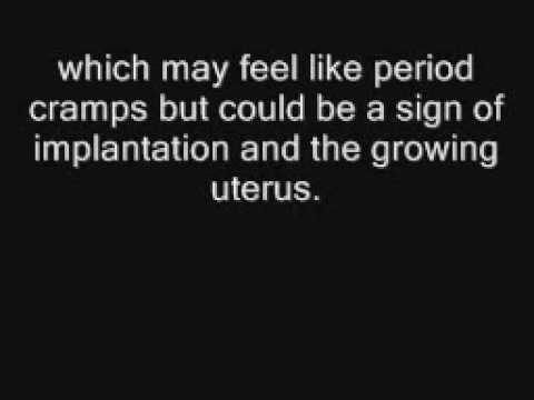 symptoms of pregnancy in the first week