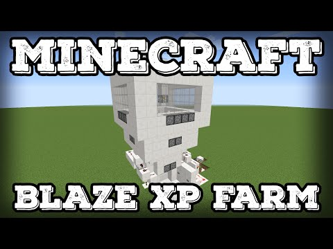 Minecraft Tutorial - Blaze XP Farm(Minecraft 1.12+)