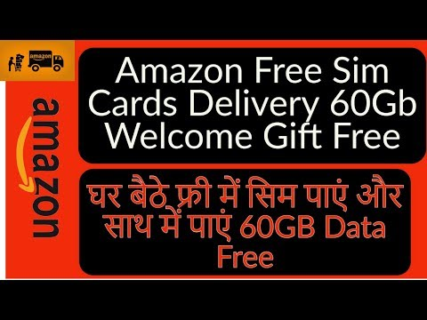 Amazon Free Sim Card 60Gb Welcome Gift  Home Delivery 🔥🔥 | Get a New Sim at Your Doorstep | M Talks